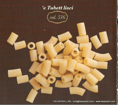 Picture of 'e Tubetti lisci