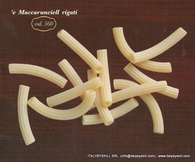 Picture of 'e Maccarunciell rigati