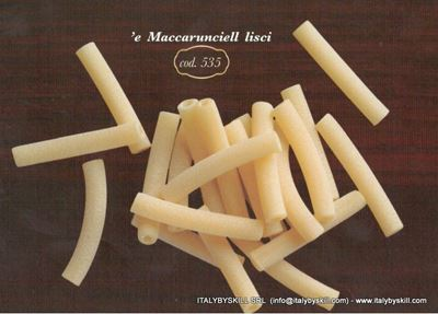 Picture of 'e Maccarunciell lisci