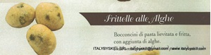 Picture of Frittelle alle Alghe