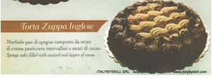 Picture of Torta Zuppa Inglese
