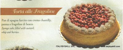 Picture of Torta alle Fragoline