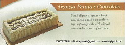Picture of Trancio Panna e Cioccolato