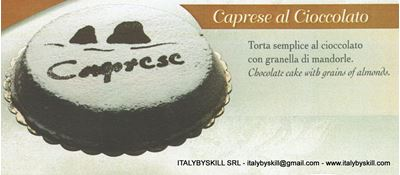 Picture of Caprese al Cioccolato