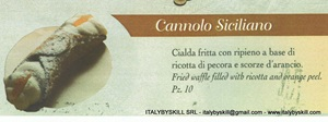 Picture of Cannolo Siciliano