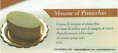 Picture of Mousse al Pistacchio
