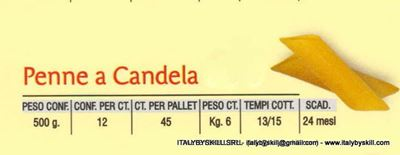 Picture of Penne a Candela