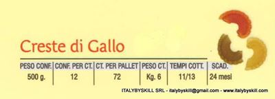 Picture of Creste di Gallo colored