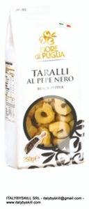 Picture of Black Pepper Tarallini 250 gr