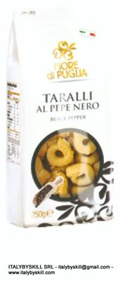 Immagine di Black Pepper Tarallini 250 gr
