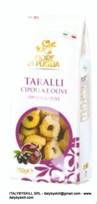 Picture of Onion and Olives Tarallini 250 gr