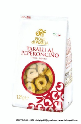 Picture of Chili Pepper Flavour Tarallini 125gr