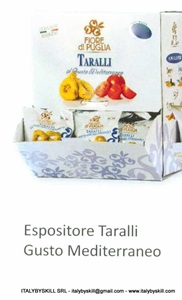Picture of Mediterraneo Tarallini 35gr Display Cartons