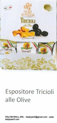 Picture of Tricioli With Olive Tarallini 35gr Display Cartons