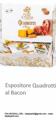 Picture of Quadrotti With Bacon Tarallini 35gr Display Cartons
