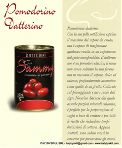 "Immagine per la categoria ""Datterino"" cherry's tomatoes"